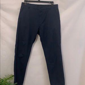 LULULEMON ATHLETICA MEN'S BLUE PANTS SIZE 36